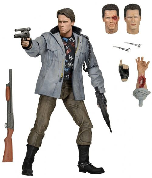 The Terminator Tech Noir T-800 Ultimate 7 Inch Action Figure NECA